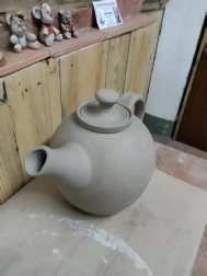 Teapot handmade by Peterson Pottery Studio