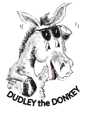 Copyright Donnas Peterson original drawing of Dudley